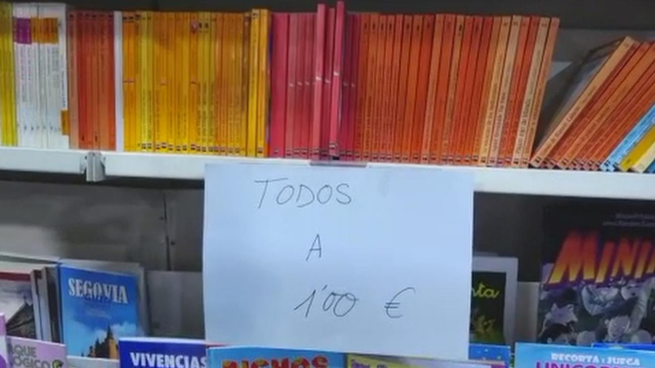 Libros a precio de chollo en San Sebastián de los Reyes