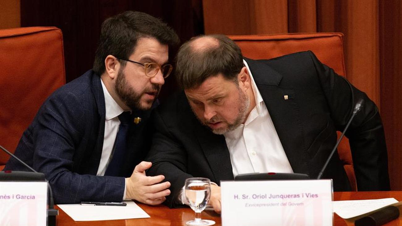 Junqueras advierte en el Parlament que volverán a hacer otro referéndum