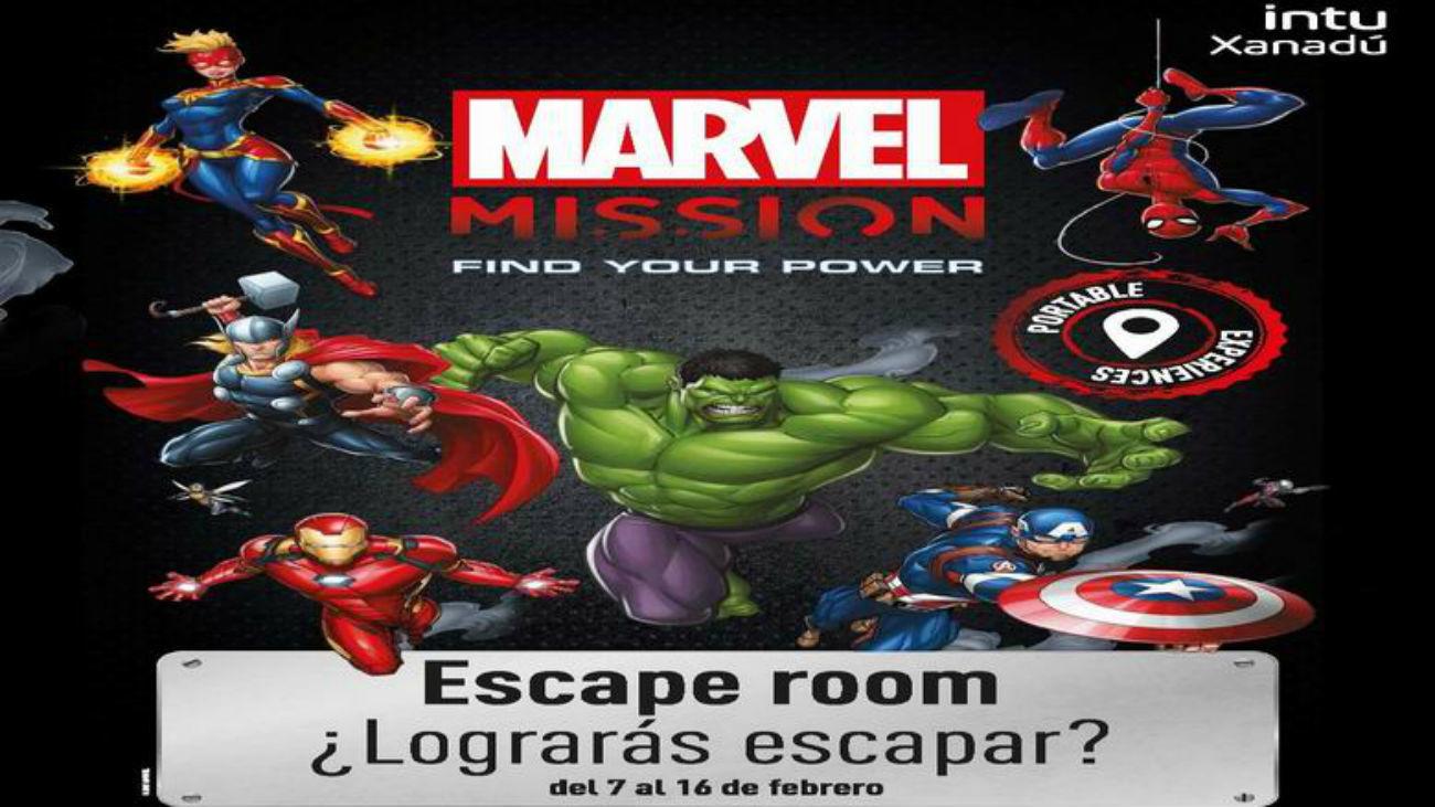 Escape Room de Marvel en Xanadú