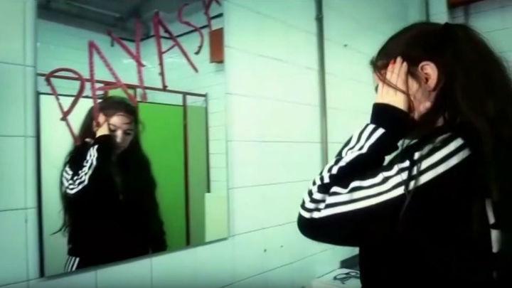Alumnos de un instituto de Getafe graban un videoclip contra el acoso escolar