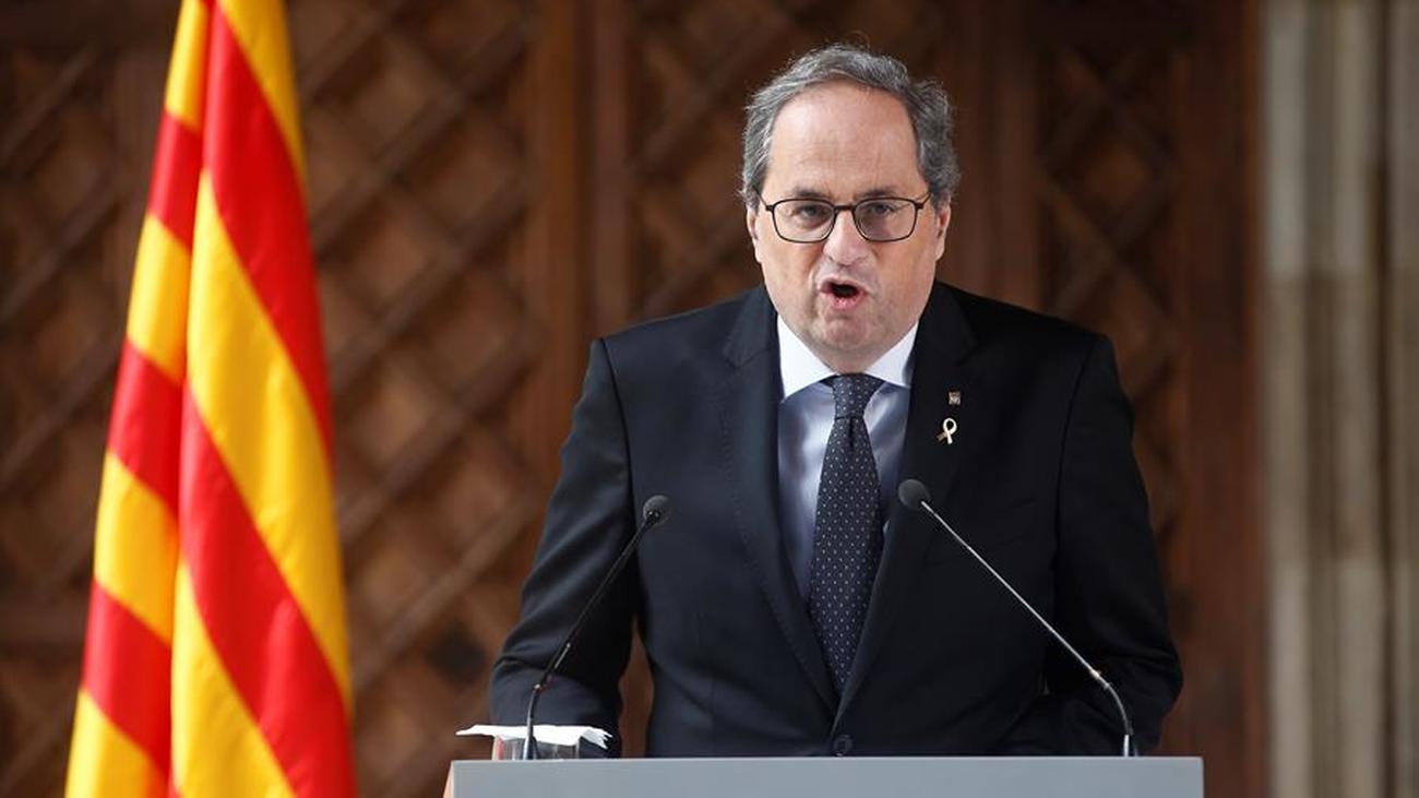 Torra convocará elecciones en Cataluña tras la ruptura con ERC y antes aprobará los Presupuestos