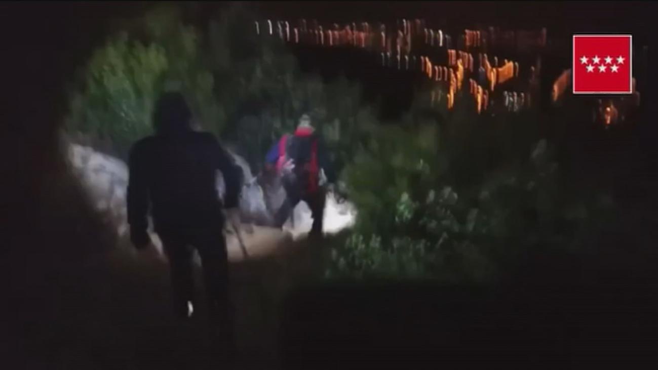 Un senderista es rescatado en La Pedriza tras quedar desorientado