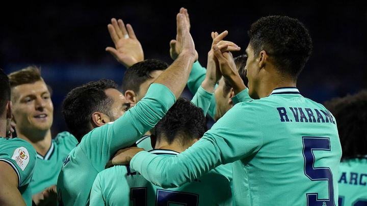 0-4. El Real Madrid, a cuartos por la vía rápida ante el Zaragoza