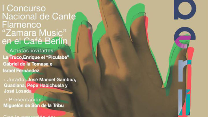 El Café Berlín acoge el I Concurso Nacional de Cante Flamenco de Zamara Music