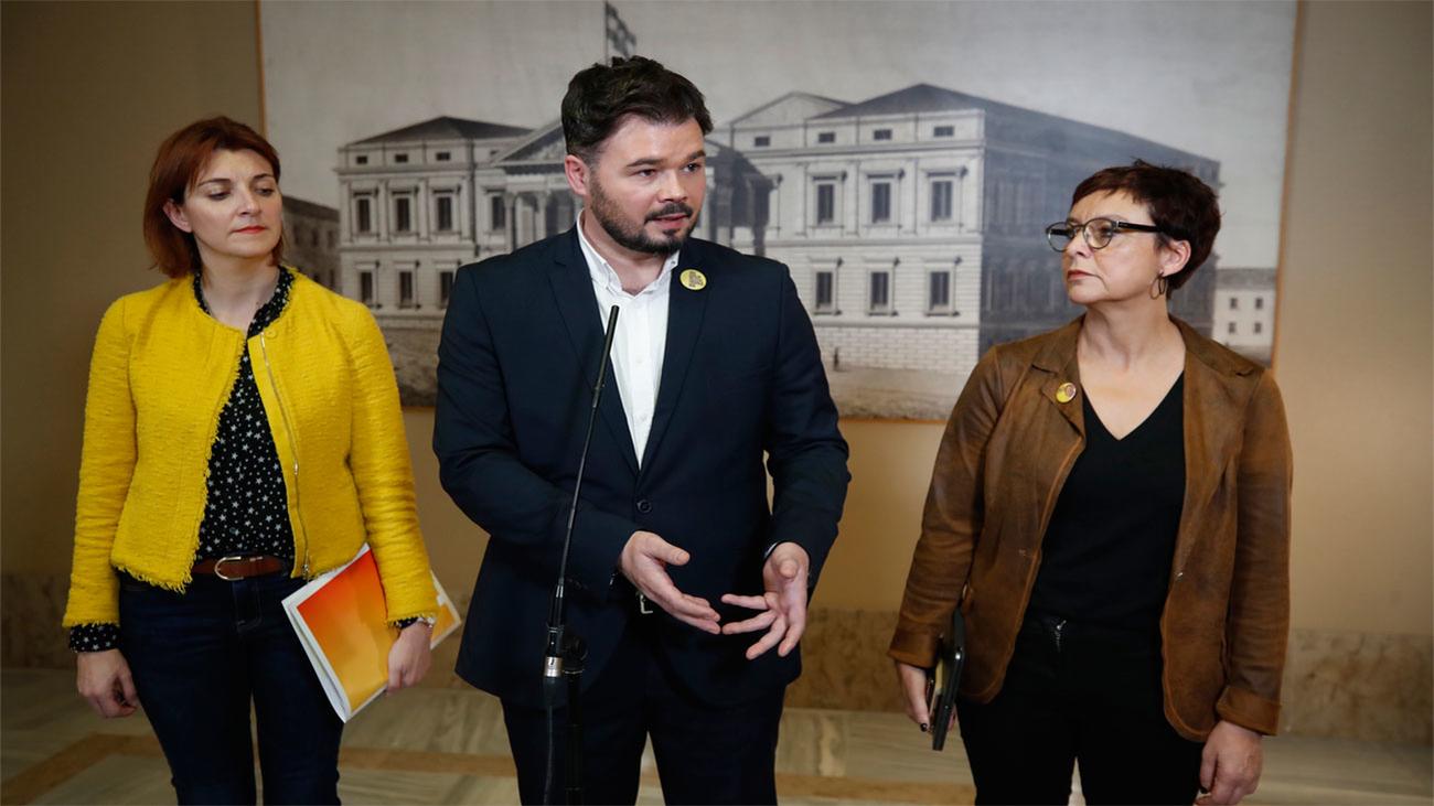 Día de tensión entre Gobierno y ERC