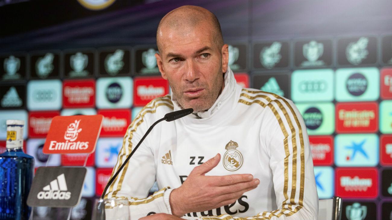 """Zidane: """"El derbi es especial, siempre gusta jugar, los precedentes no dicen nada"""""""