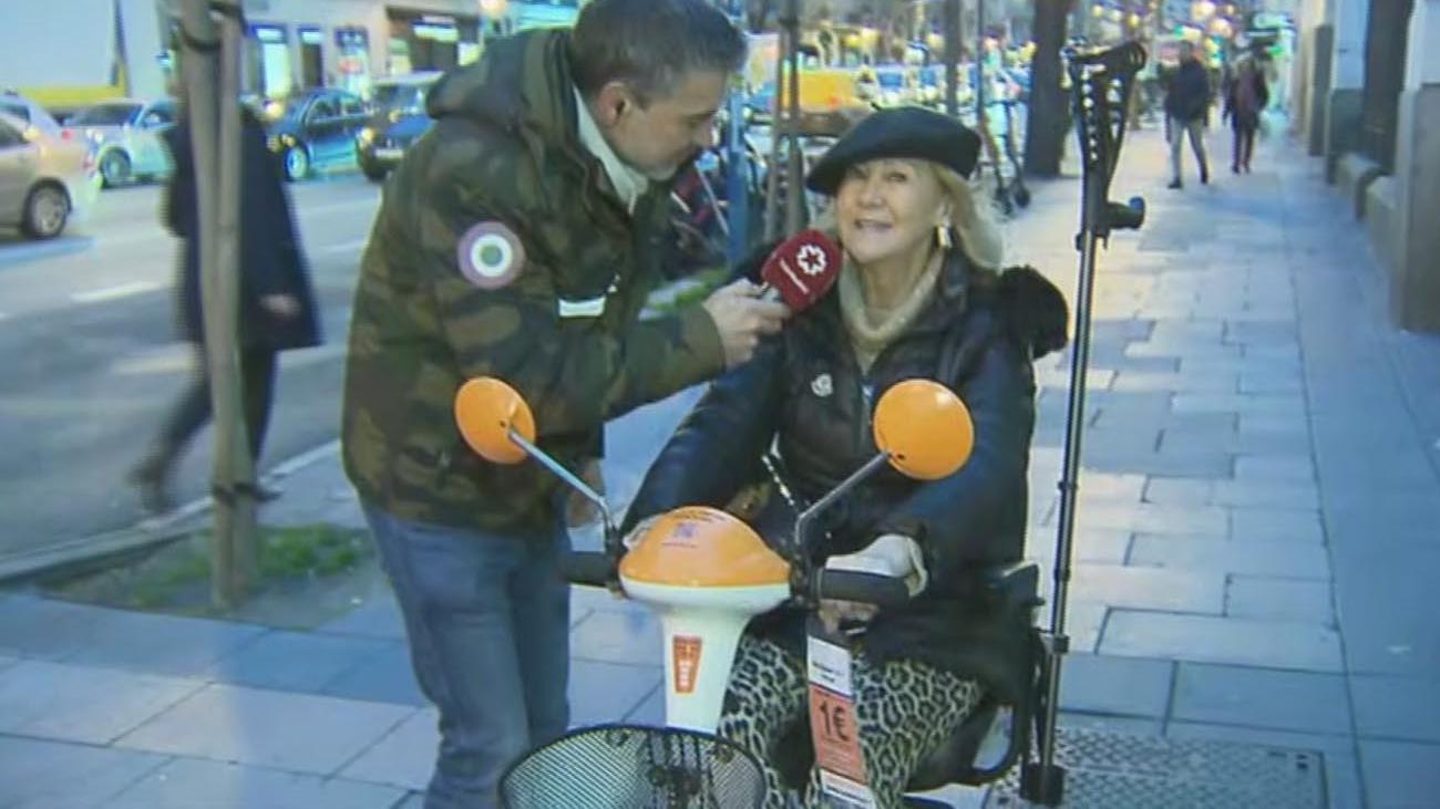 Madrid ya cuenta en sus calles con scooters eléctricos para personas con movilidad reducida