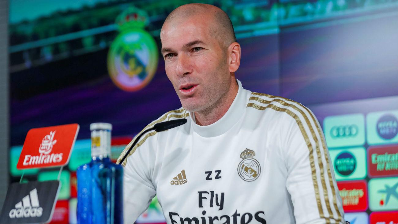 """Zidane: """"Cada derbi es diferente y espero ver un gran partido"""""""