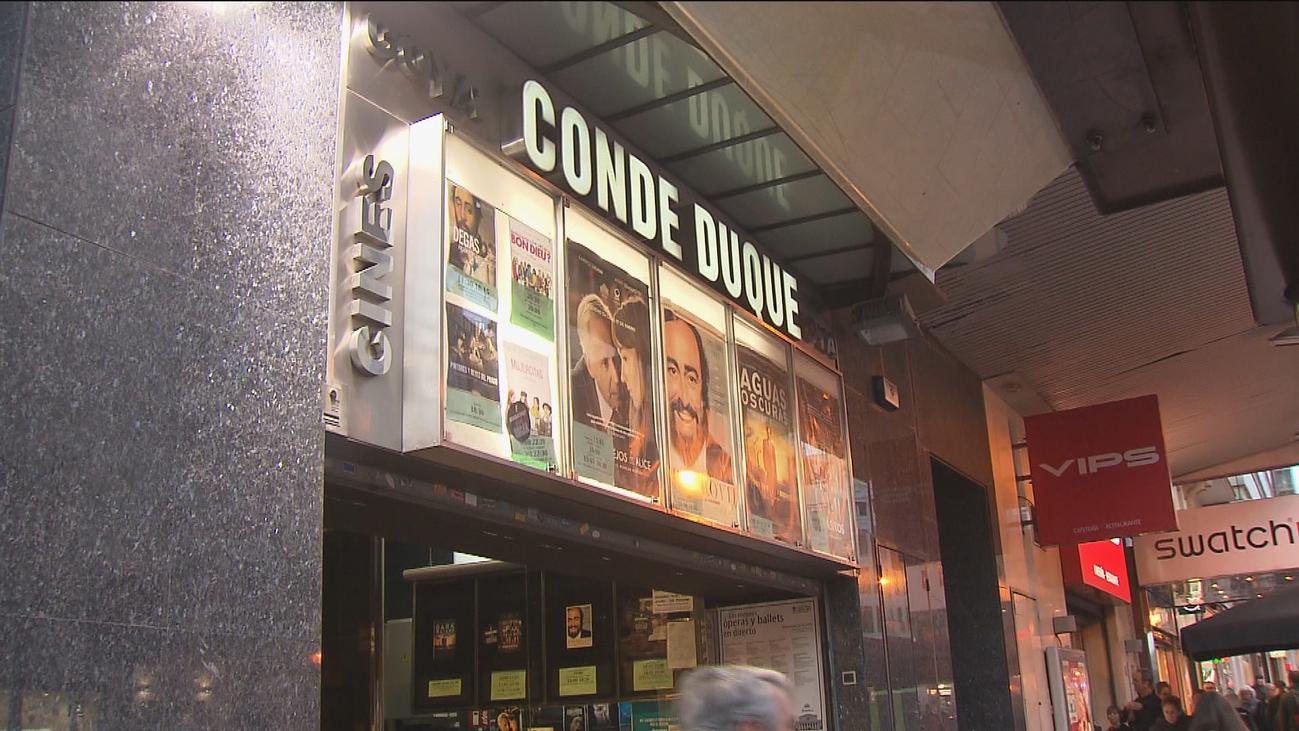 Los cines Conde Duque de Goya, a punto de convertirse en un supermercado