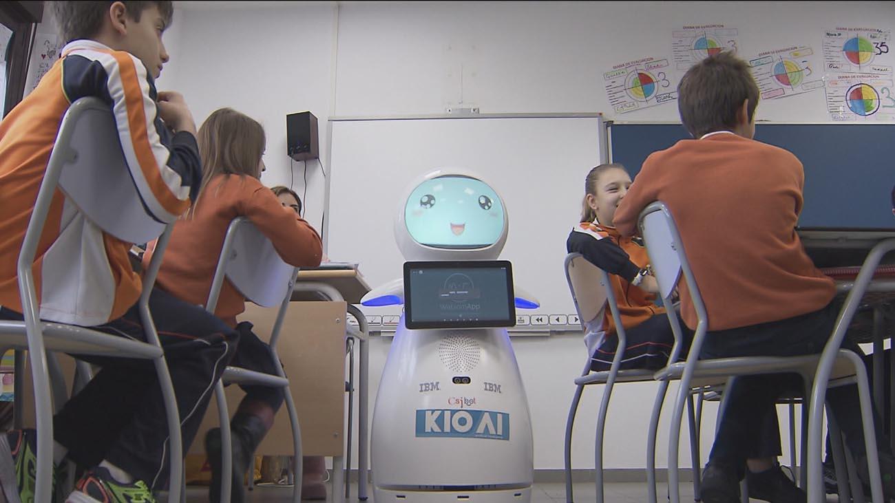 Robots contra el acoso escolar en Sevilla la Nueva