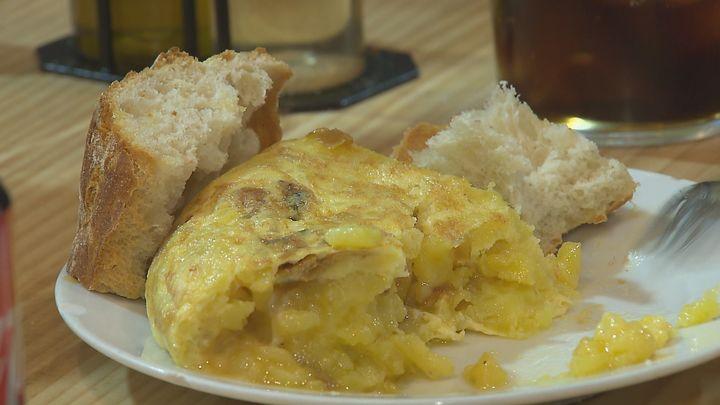 Madrid plato a plato: Tortilla española