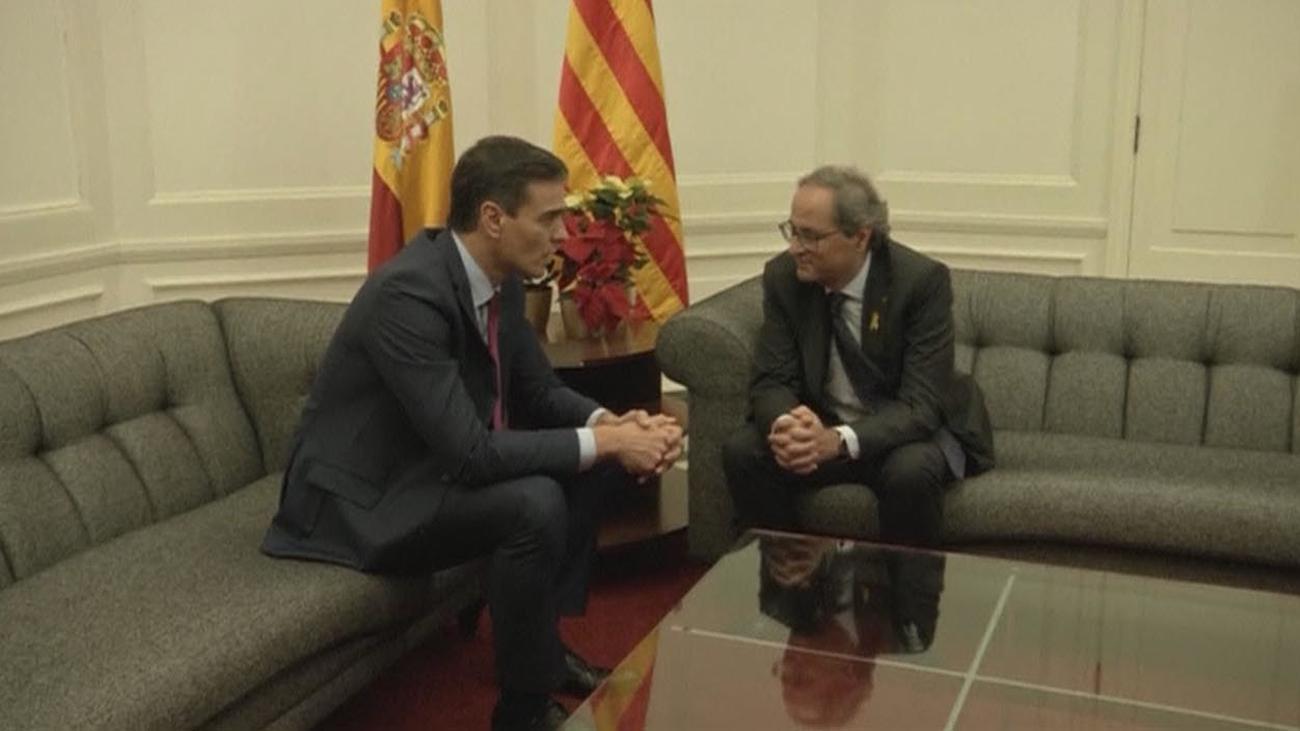 Reunión Sánchez-Torra, pese a todo y contra todos