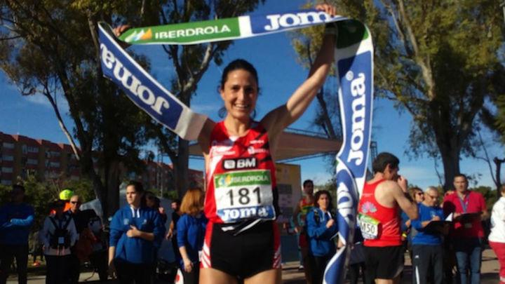 Elena Loyo, campeona de España de Medio Maratón
