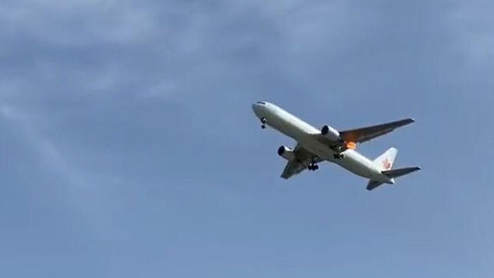Tensión en Barajas ante el aterrizaje de emergencia del vuelo AC837