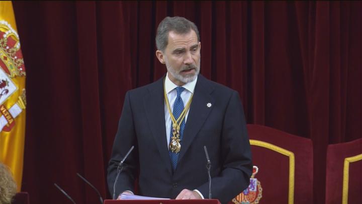 """Felipe VI: """"España debe ser de todos y para todos"""""""