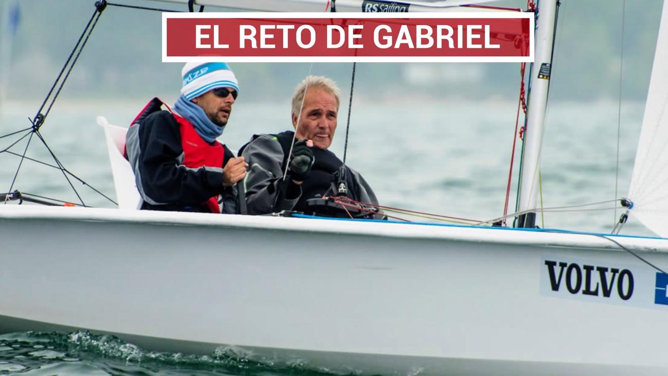 Gabriel Barroso, un campeón de vela en silla de ruedas