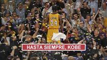 Los Lakers honran a Kobe Bryant