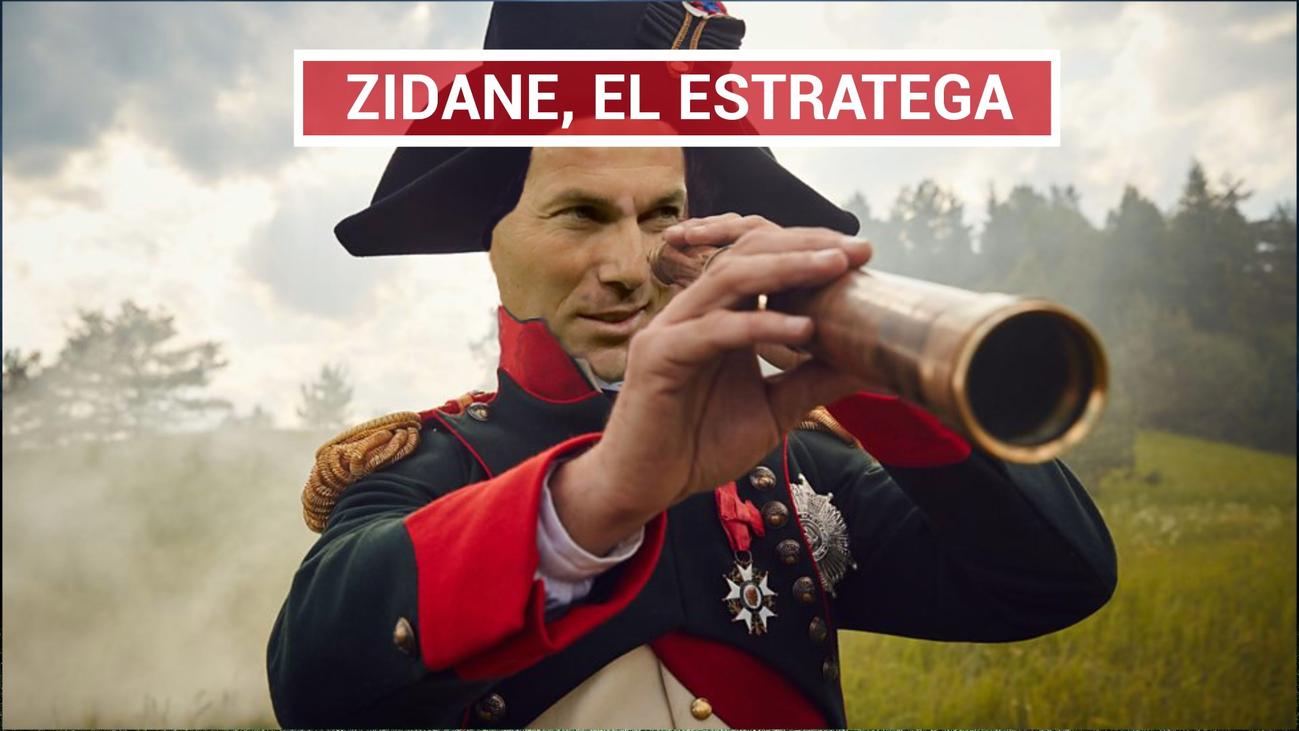 Zidane, el 'Napoleón' de los banquillos