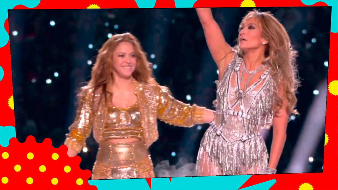 ¿Rivalidad entre JLO y Shakira?