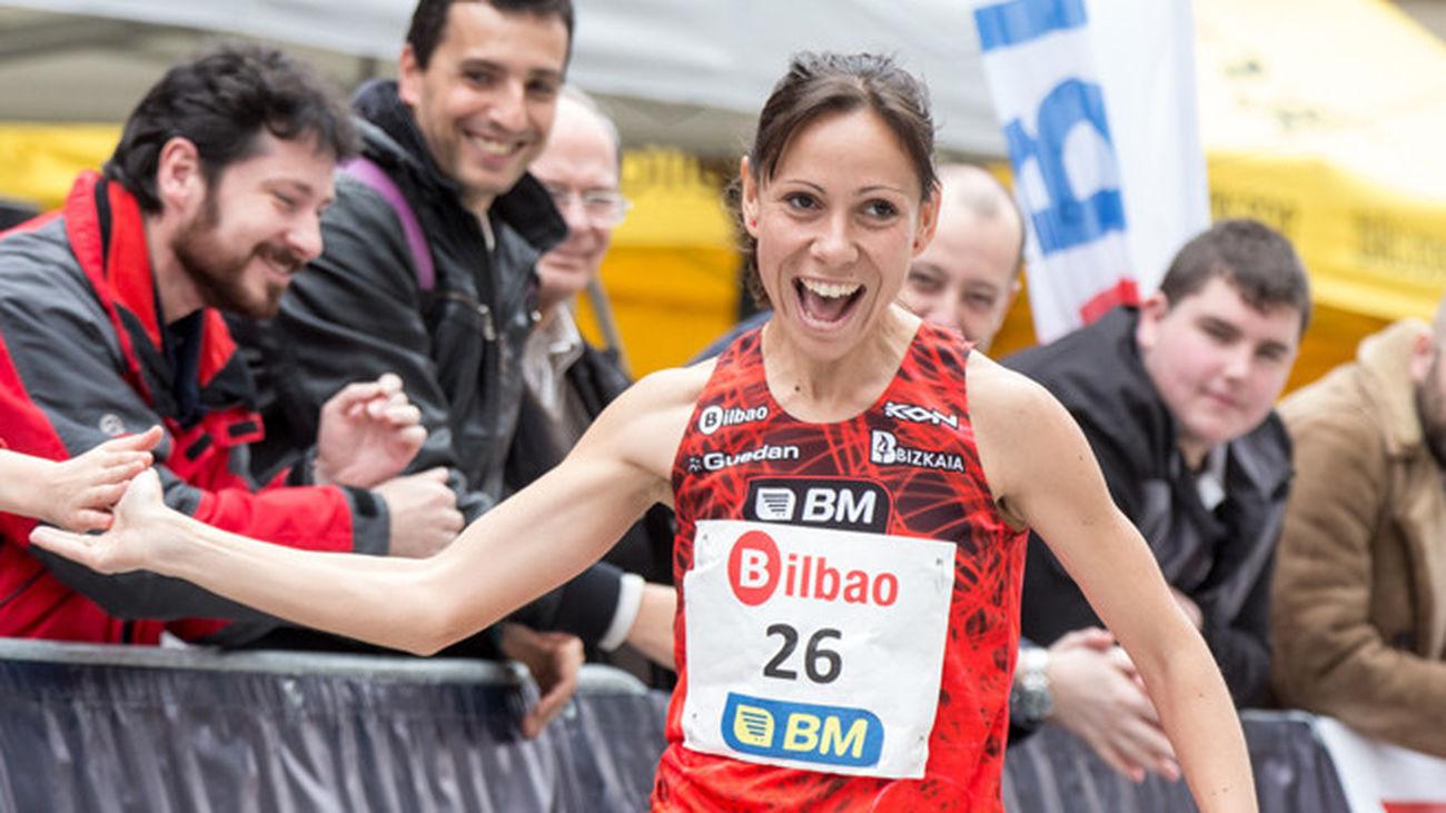 Azucena Díaz, bronce en el Campeonato de España de 10 km