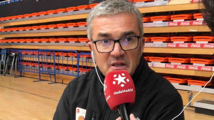 """Paco García: """"Es un reto para mí salvar al Fuenlabrada"""""""