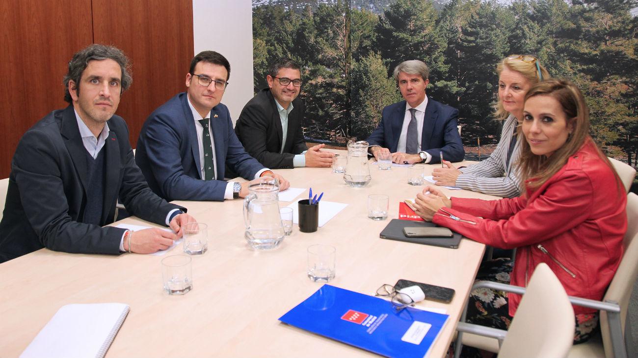 Reunión Alcobendas y Comunidad de Madrid