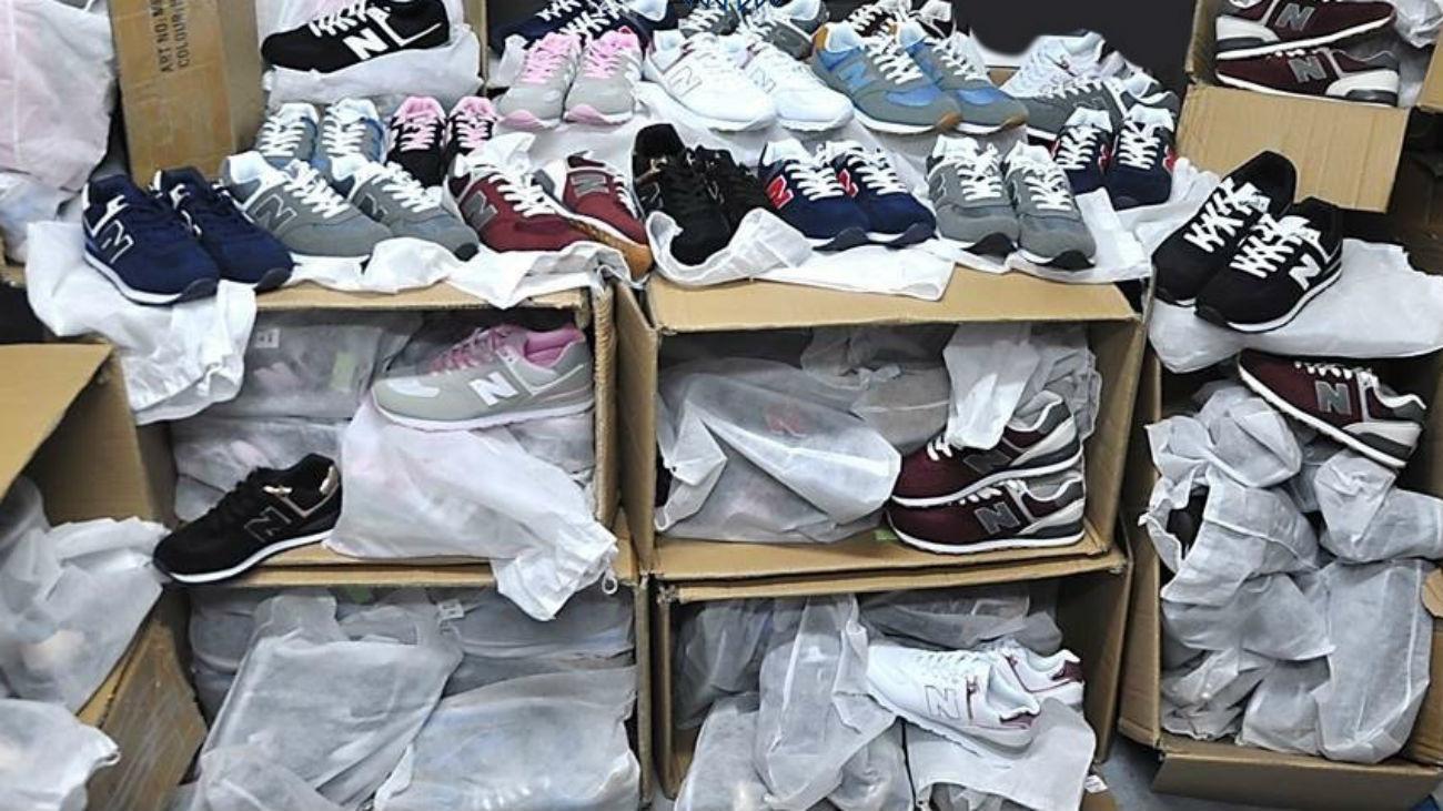 Zapatillas falsificadas