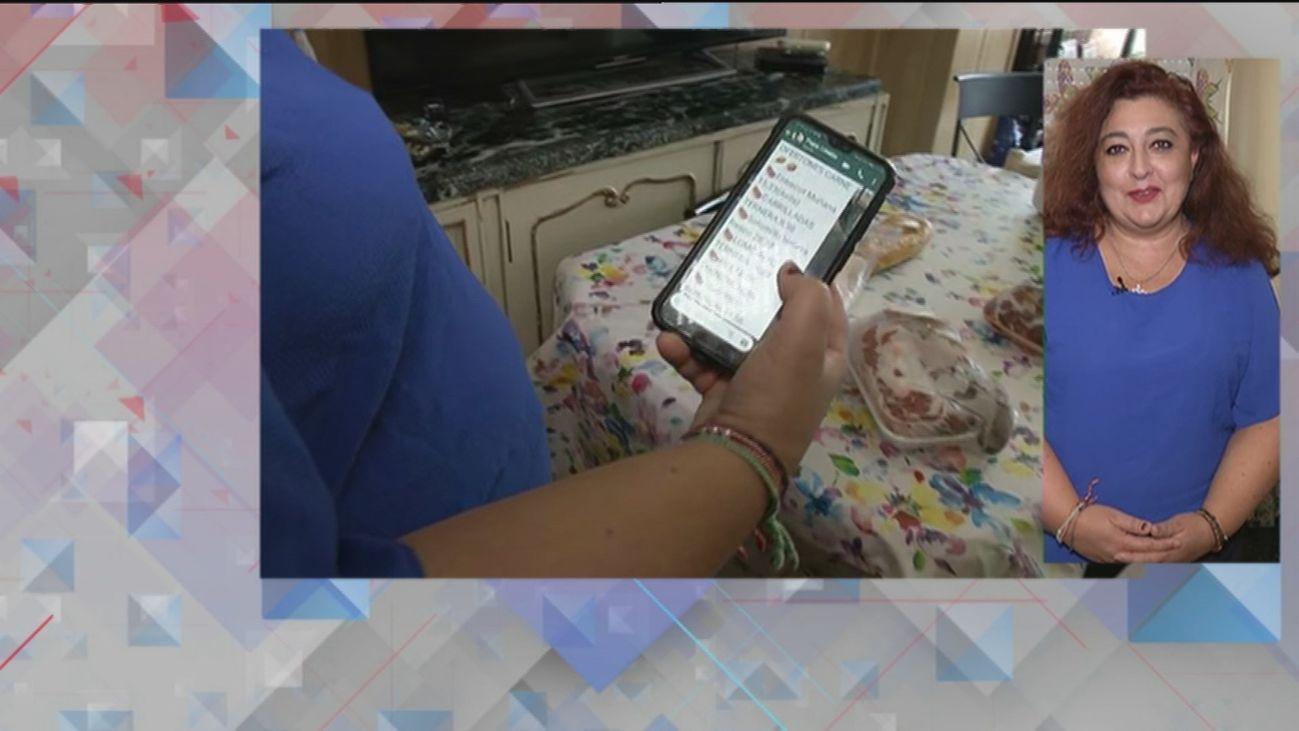 Raquel sacó a su  familia de 12 hijos de la ruina vendiendo pescado por whatsapp
