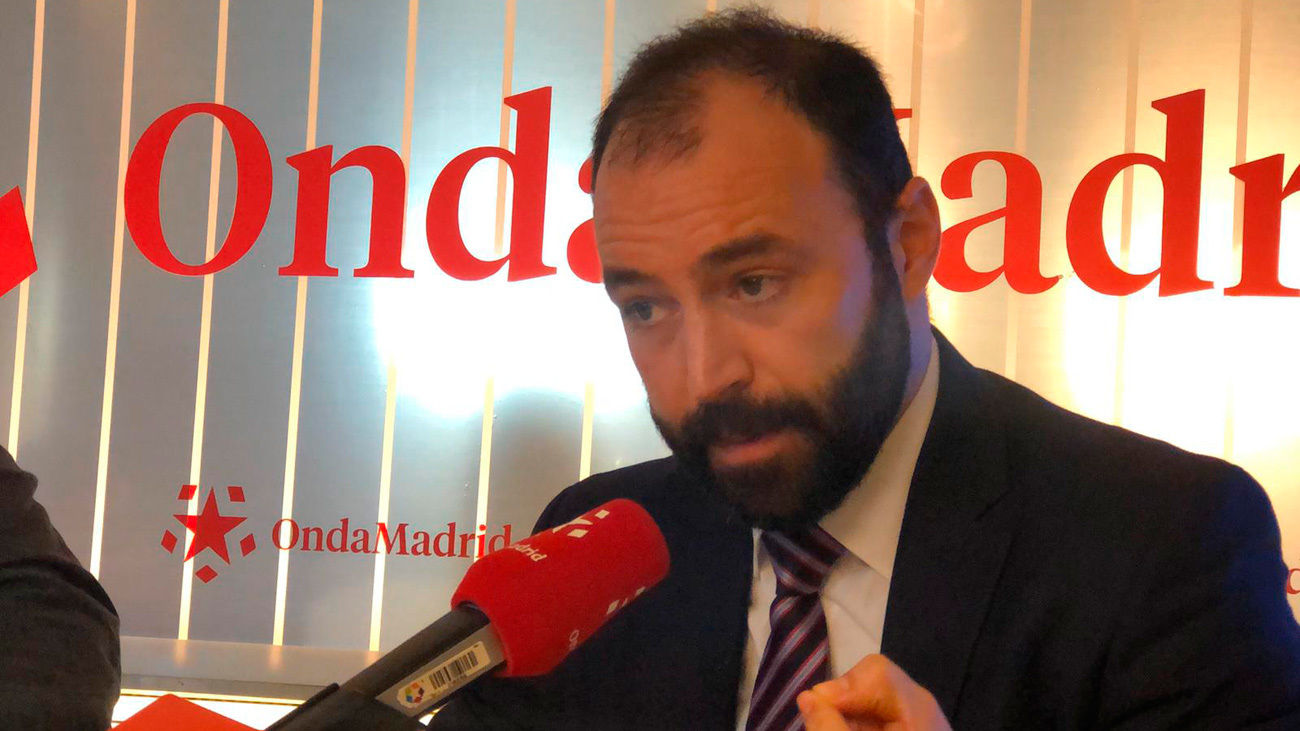 Manuel Giménez, consejero de Economia y Empleo de la Comunidad de Madrid