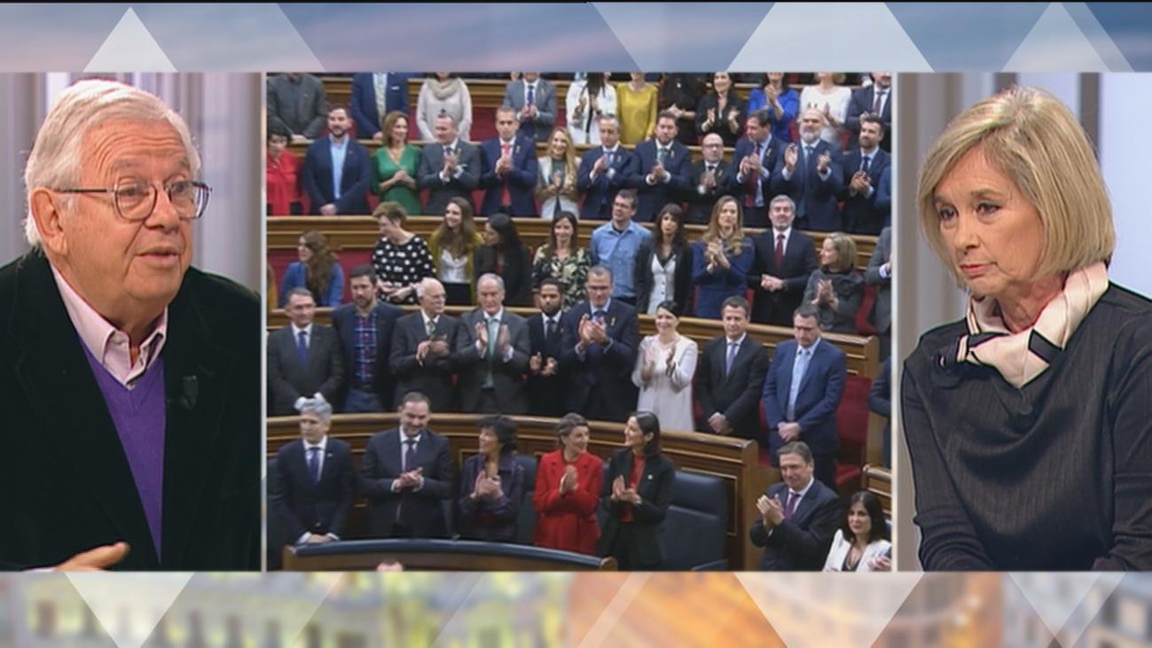 ¿Le parece bien que algunos diputados decidieran no aplaudir el discurso de Felipe VI?