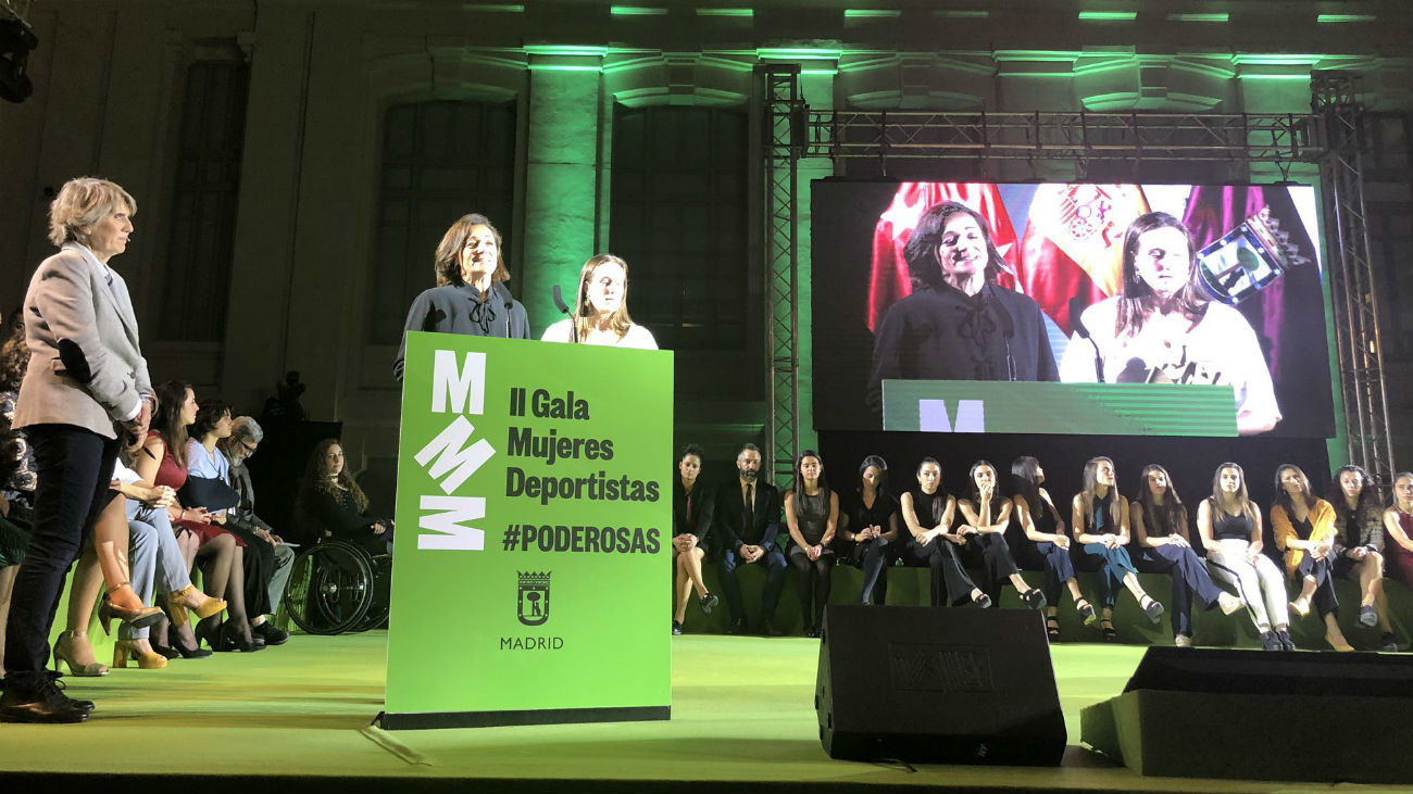 II edición de la Gala de Mujeres Deportistas