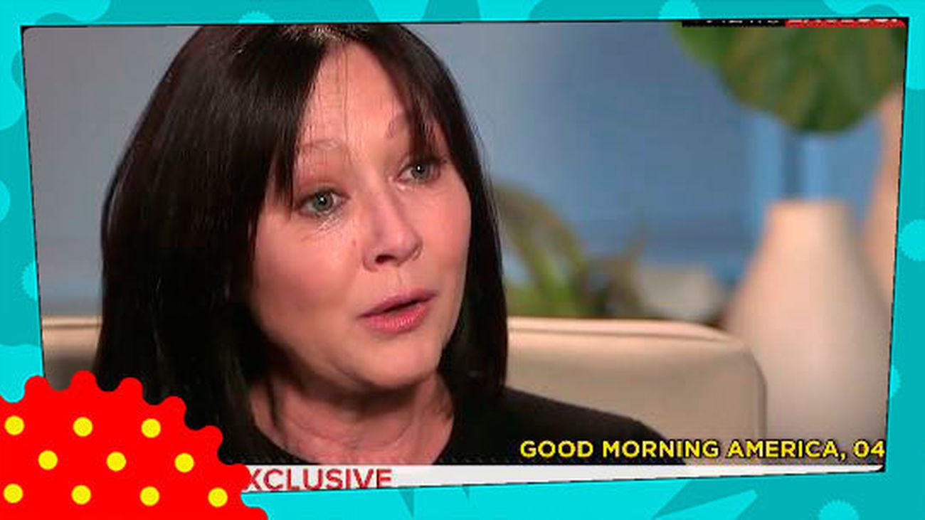 """El desgarrador testimonio de Shannen Doherty: """"Mi cáncer ha vuelto"""""""