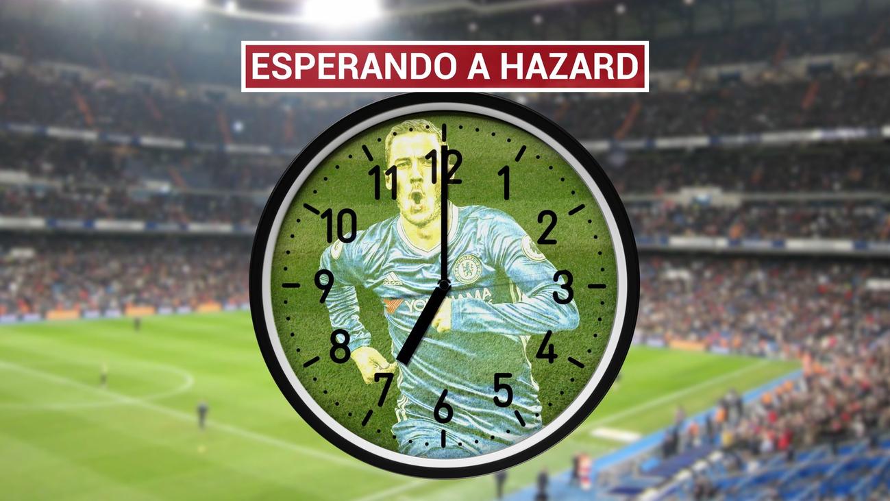 Hazard vuelve 72 días después para la Copa del Rey