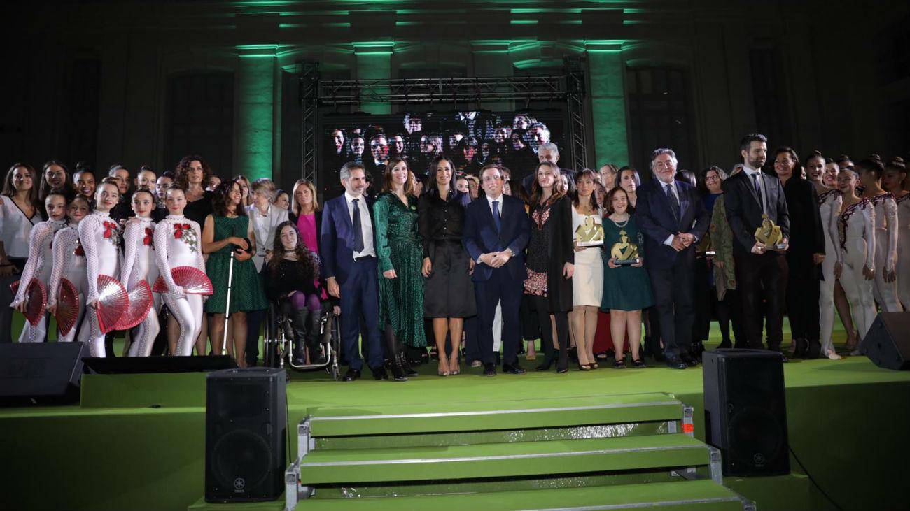 Madrid homenajea a las mujeres deportistas