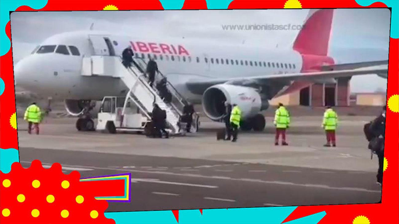 El Real Madrid, criticado por viajar en avión