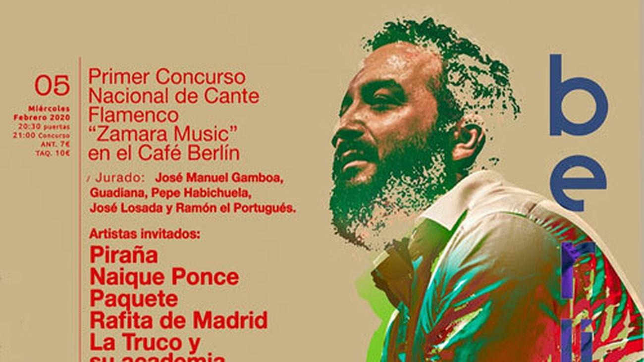 """Entrevista a José  Losada, Director del I Concurso Nacional de Cante Flamenco """"Zamara Music""""en el Café Berlín de Madrid"""