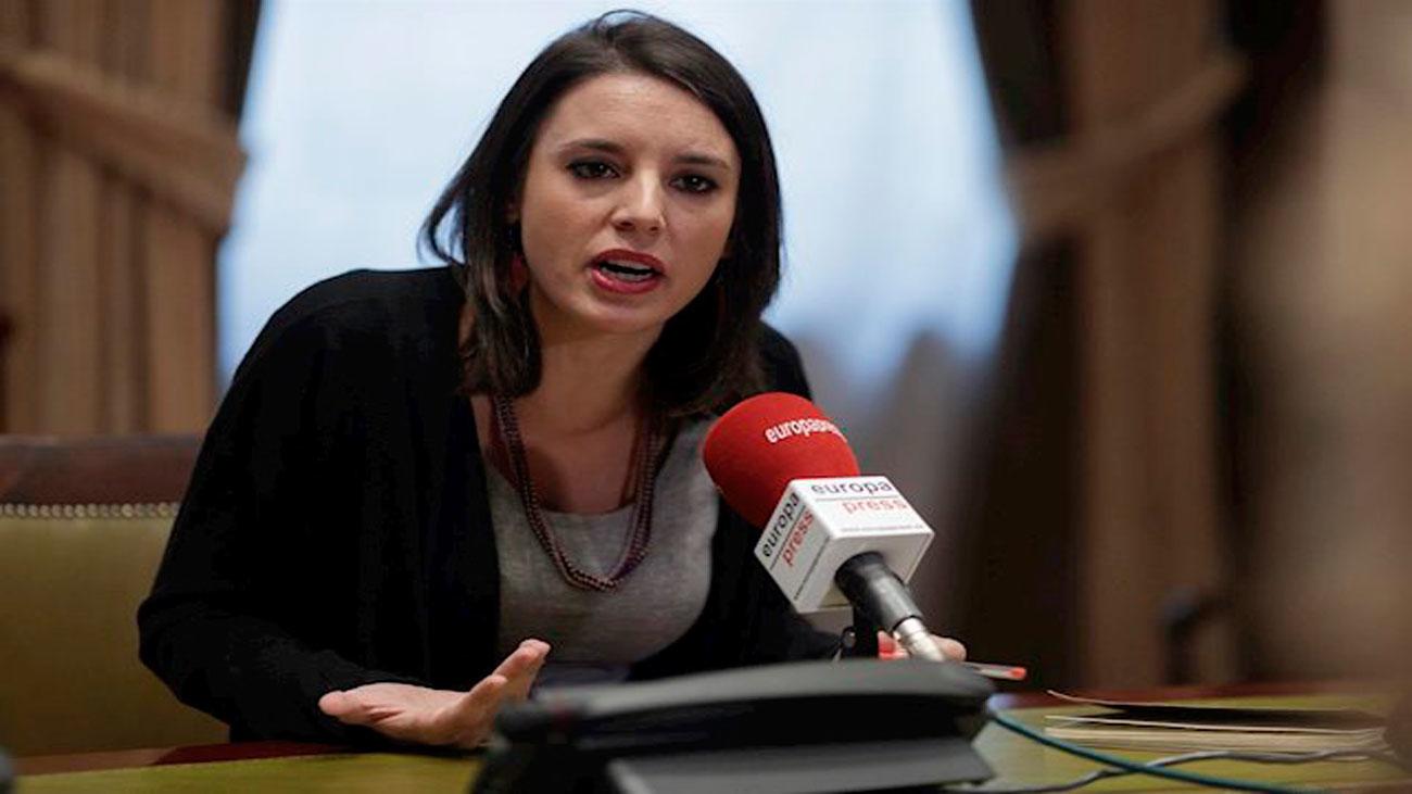 Irene Montero anuncia que la ley integral de protección de libertad sexual estará lista pronto