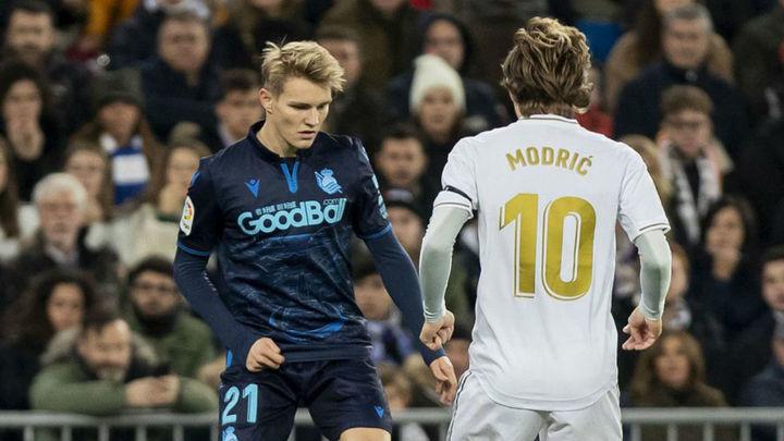 Real Madrid-Real Sociedad, duelo de buen fútbol en busca de las semifinales