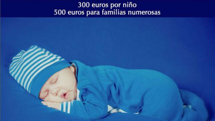 El Ayuntamiento de Alcorcón elimina el 'cheque bebé'