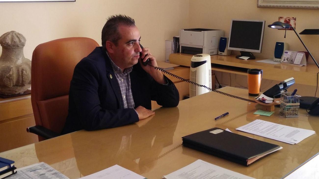 Javier Corpa, alcalde de San Fernando de Henares