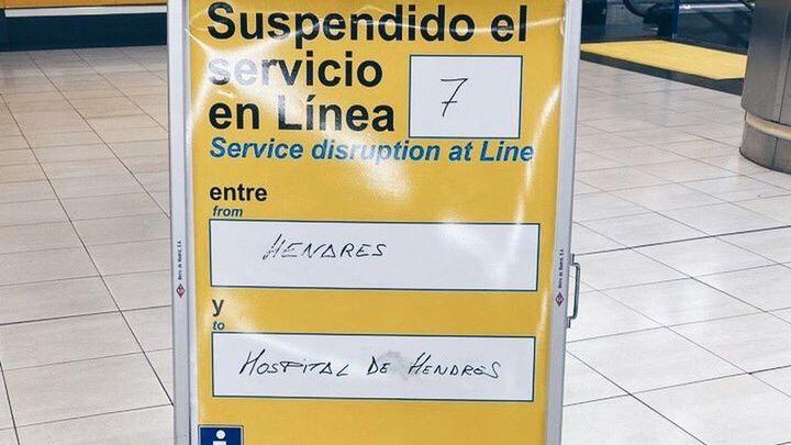 El sorpresivo cierre de la estación Hospital del Henares en la línea 7 de Metro