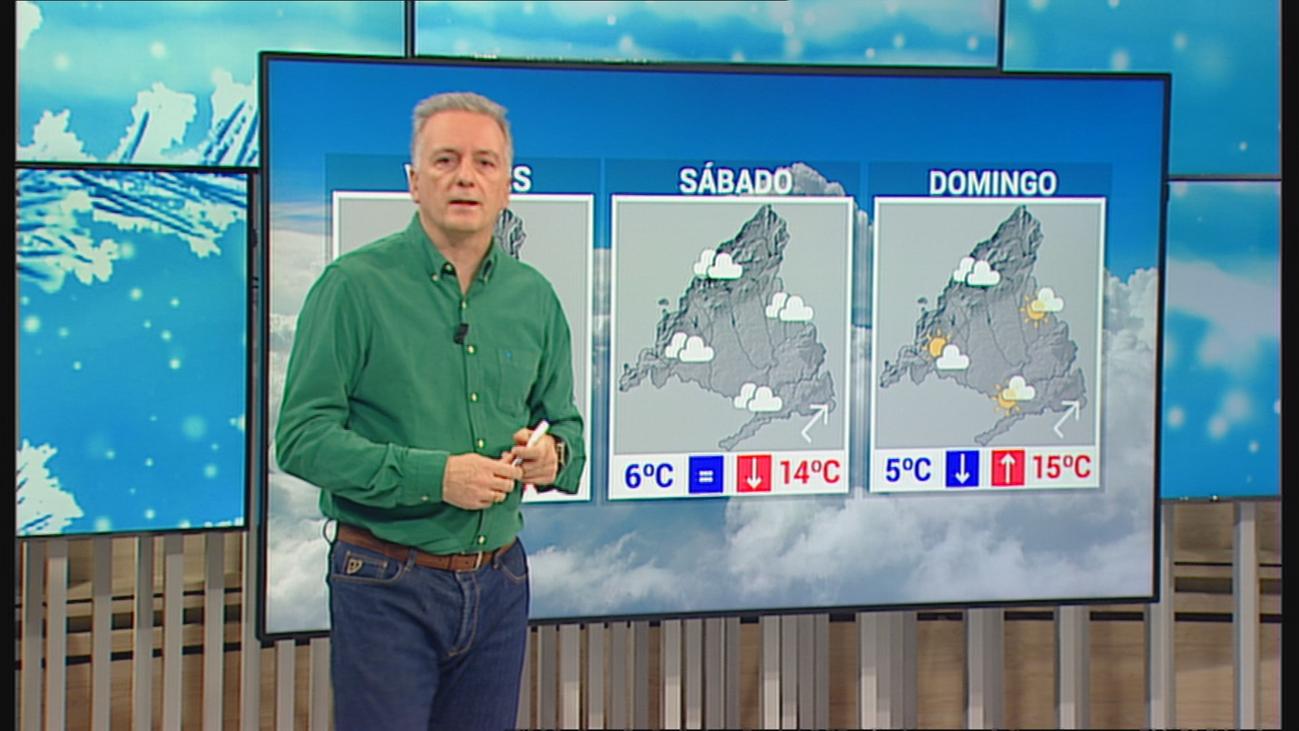 Más nubes y temperaturas sin grandes cambios este fin de semana en Madrid