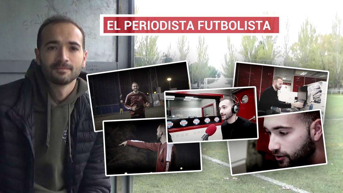 Las dos pasiones de Rafa Maínez, el fútbol y la radio