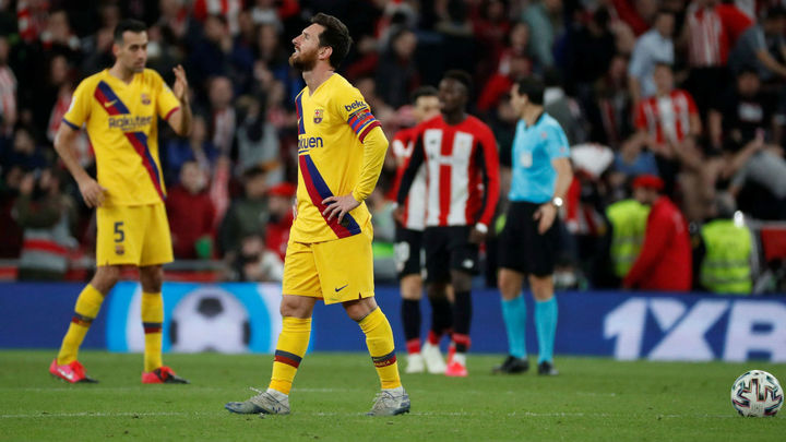 1-0. El Athletic echa al Barça de la Copa