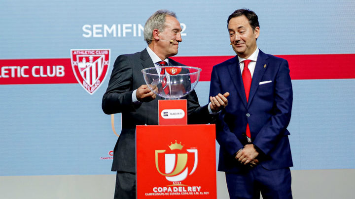 Athletic-Granada y Real Sociedad-Mirandés, semifinales de la Copa del Rey