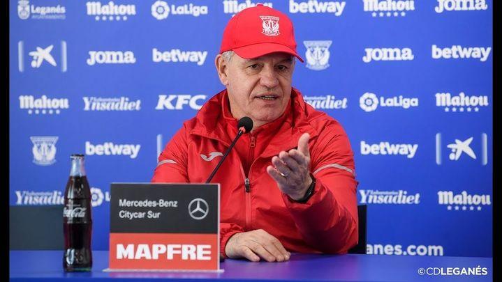 """Aguirre: """"Si hoy acaba la Liga nos vamos a Segunda División"""""""