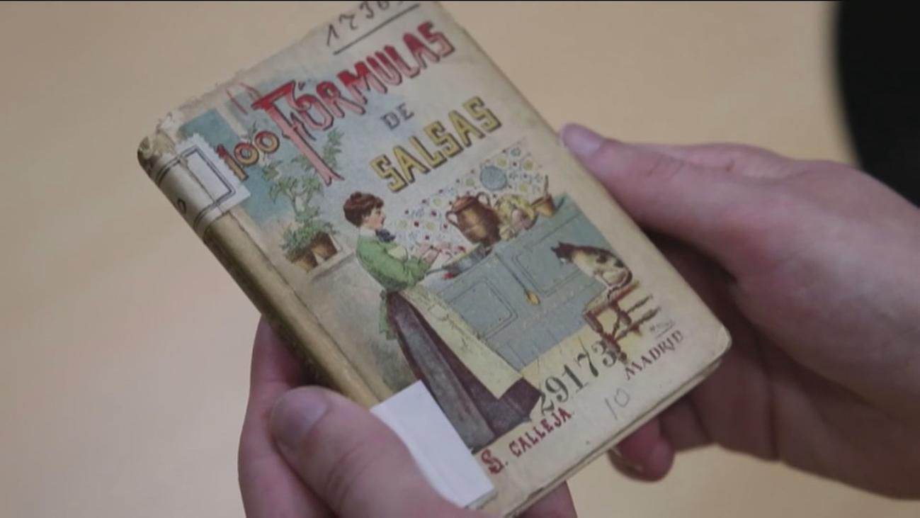 Un libro de salsas, el segundo más consultado de la biblioteca digital de la BNE