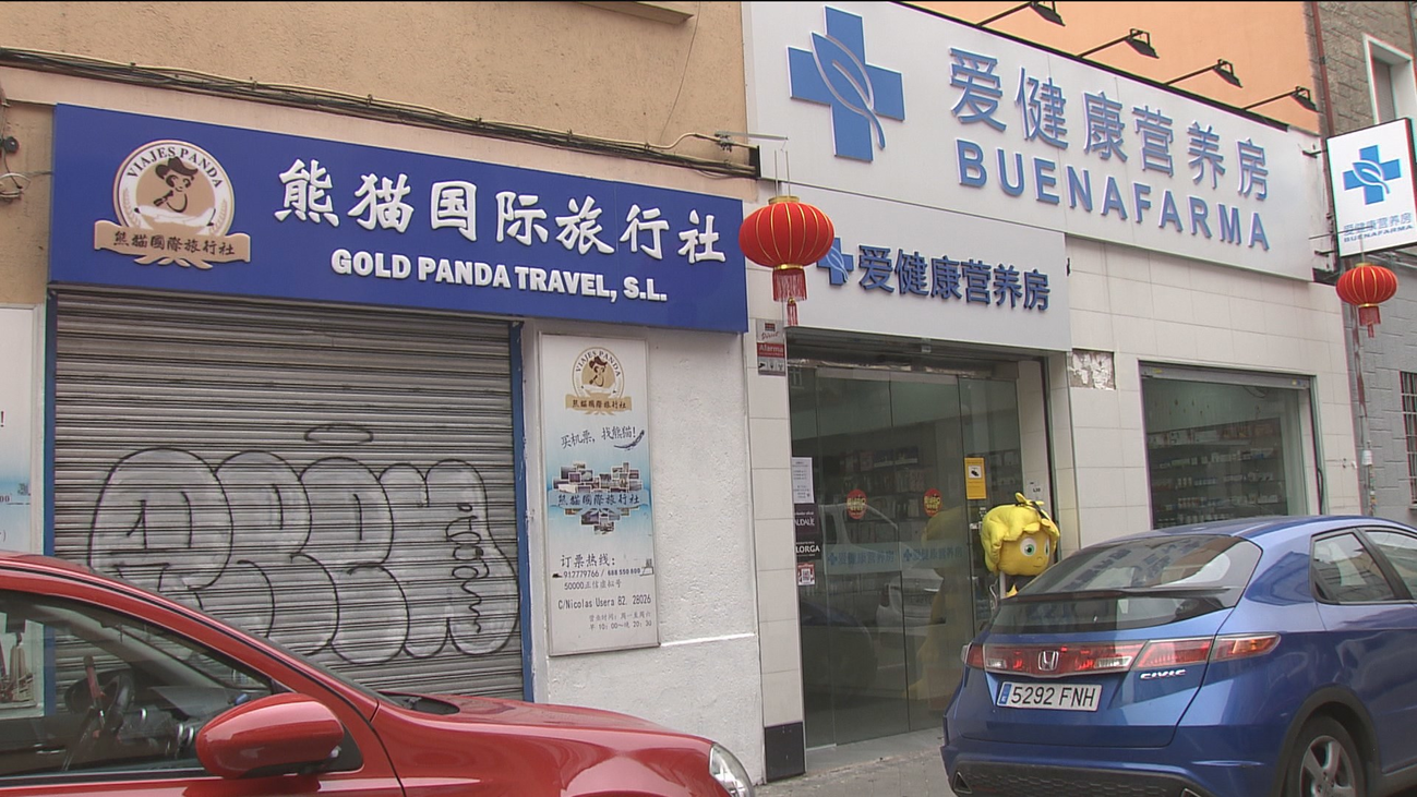 Caída de ventas y cierre de comercios chinos en Usera por el coronavirus