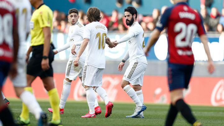 1-4. El Real Madrid remonta al Osasuna y afianza el liderato