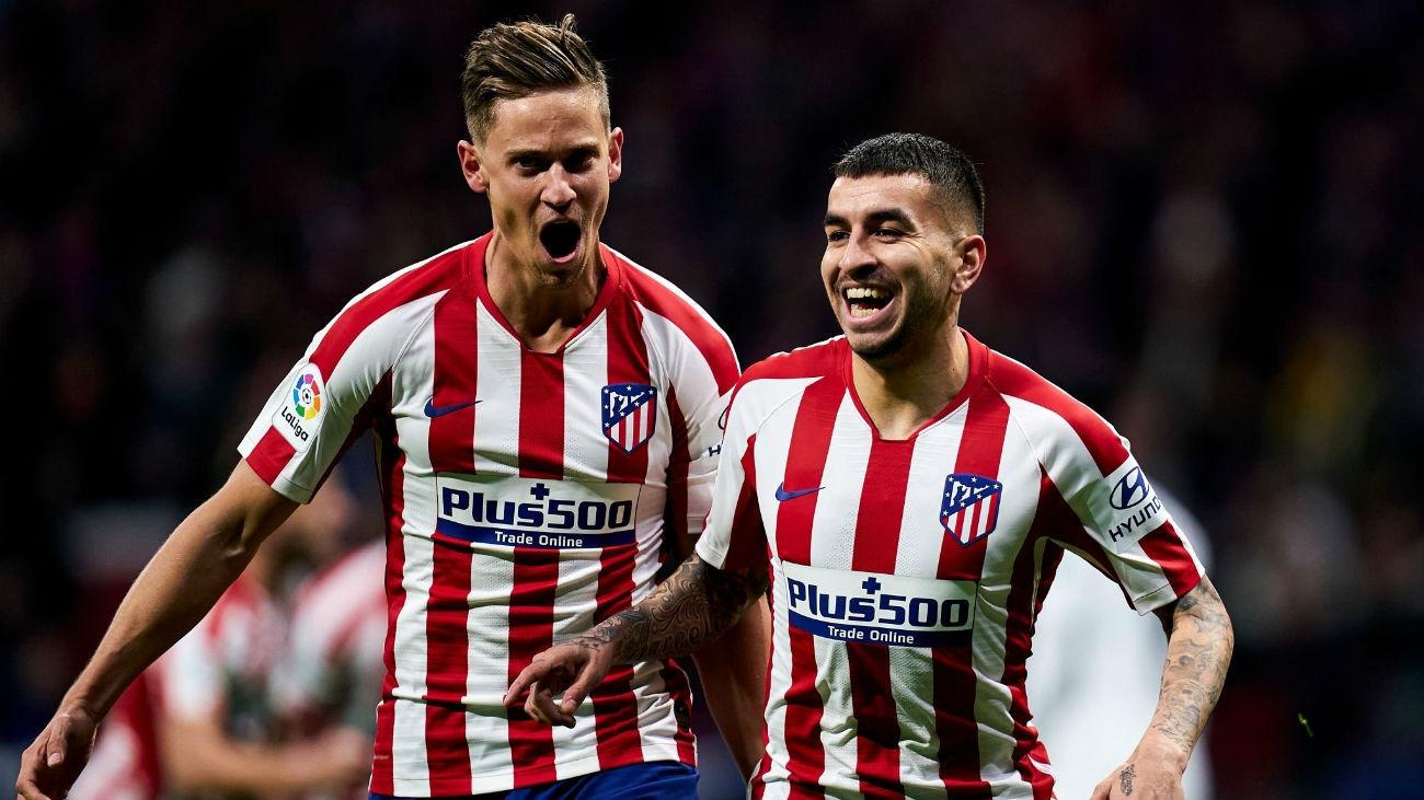 1-0. El Atlético derrota al Granada gracias a Correa